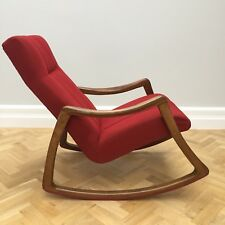 Mid Century Vintage Modernist Thonet Rocking Armchair ( Pair Available)