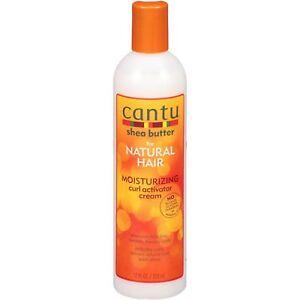 Cantu Shea Butter Moisturizing Curl Activator Cream 12 Oz / FREE POST