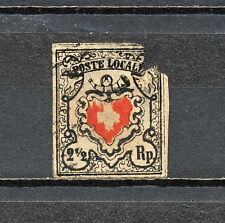 NNBP 229 SWITZERLAND 1850 USED DAMAGE