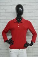 Polo TOMMY HILFIGER Donna Taglia Size XL Maglia Camicia Rosso Shirt Woman