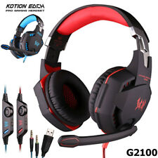 KOTION EACH G2100 Vibration Function Gaming Headphone Headset with Mic Stereo