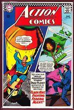 "DC_ACTION COMICS # 348_VFN-_(1967)_""CLARK KENT FIGHTING FEDERAL AGENT!"""