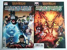 New Agents of Atlas #1 & 2 NM 1st App Zircher, Swordmaster Marvel Comics