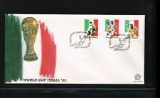 [ZW028] 1990 - Indonesia FDC 7/90 - Sport - Football (Soccer) - Worldchampionshi