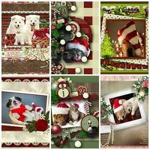 ONE OF THOSE CHRISTMAS Card Making Toppers, Card Toppers (12)