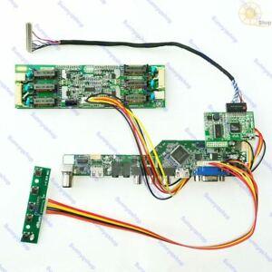 HDMI+VGA+AV LCD Controller Board TMDS Monitor converter Kit for LM201W01-STB2