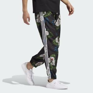 NWT Adidas Originals Party Wind Track Pants Floral Men's Size Large EC7310
