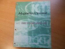 Werkstatthandbuch Schaltpläne Stromlaufpläne KIA Magentis / Optima Modell 2003