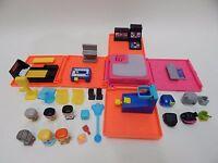 My Mini Mixie Q's Neon Arcade Deluxe Playset Lot of Figures ULTRA RARE ZOMBIE