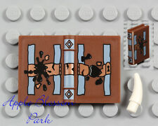 NEW Lego Minifig Brown TOM RIDDLE DIARY - Harry Potter 2x3 Spell Book 4730 4731