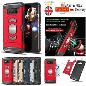 Heavy Duty Shockproof Armour Rubber Case Iphone 6 7 8 9 10 11 X XR XS Max Plus