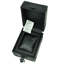 TW Steel Authentic Watch Gift Empty Box Case Metal Storage Matte Black Pillow