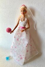 Bambola Barbie sposa con 5 accessori originali. by Mattel