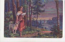 Dobrovicky Treue Freunde 1915 Art Postcard 219b
