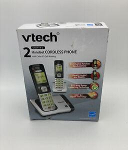 2 Cordless Handset VTech DECT 6.0 Home Phone Caller ID Call Waiting Speakerphone
