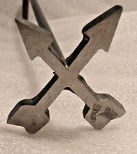 🌟Branding Iron Cross Arrows, Wood,BBQ Crafts,Signs,Western,Wedding,Beehive