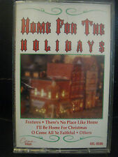HOME FOR THE HOLIDAYS (GLEN CAMPBELL,BUCK OWENS & MORE), CASSETTE TAPE, 1991