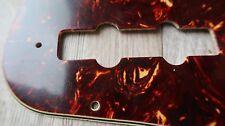'60-'71 Fender JAZZ Tortoise Celluloid Pickguard 64 61 62 63  65 70's Relic