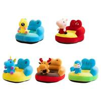 Cartoon Animal Baby Sofa Cover Learning to Sit Chair Seat Skin No Filler R1BO