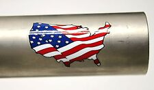 NOS Serotta / Saratoga Frameworks 3M Vinyl American Flag Bike Frame Decals