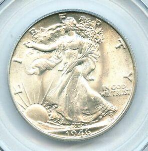 1946 Walking Liberty Half Dollar, PCGS MS65