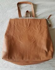 IO Pelle ANTONIO CHRISTIANO Italian Designer Genuine Leather Tote/Backpack NWT