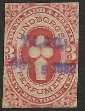 RT 30d-- YOUNG, LADD AND COFFIN 3 CENT MATCH AND MEDICINE STAMP--71