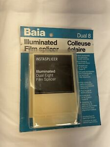 Baia INSTASPLICER Illuminated Dual Eight Film Splicer For Super 8 8mm and 16mm