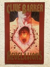 REVELATIONS - CLIVE BARKER ECLIPSE BOOKS Graphic Novel 1991 US 1st Printing RARE