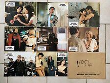 BRIGADE DES MOEURS de Max PECAS - 8 Photos Exploitation Lobby Cards Erotique
