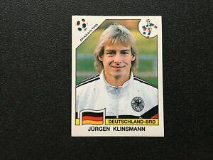 Panini WC 1990 Italia Jurgen Klinsmann  #265