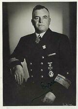 WW2 KRIEGSMARINE RAIDER ADMIRAL ROBERT EYSSEN KNIGHTS CROSS ZLwS KOMET S.FOTO++