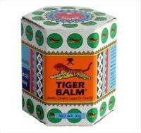 Baume Du Tigre Blanc Pot De 30g Tiger Balm White 30g Gros Pot Des Douleurs