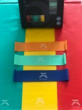 BANDS Set of 6 for Yoga & Pilates fitness