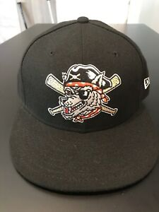 Erie SeaWolves New Era 5950 Hat Cap Size 7 1/4 NWT Made In USA