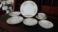 Meito NSP China  Seven (7) Piece Place Setting (Hand Painted MADE IN JAPAN)