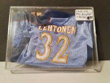 2007-08 UD Mini Jersey Collection Away Jerseys #MINI2 Kari Lehtonen