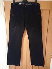 G Star Raw 3301 Black Jeans 34