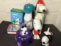 Vintage Snoopy Collectibles - Lot of 7