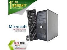DELL Desktop Computer OptiPlex 360 Core 2 Duo E7500 (2.93 GHz) 4 GB DDR2 1 TB HD