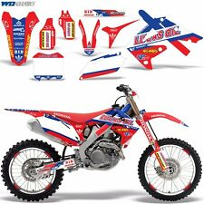 Decal Graphic Kit Honda 250/450R Dirt Bike Sticker CRF250 10-13 CRF450 09-12 XX