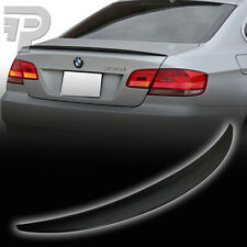 PAINTED E92 BMW COUPE PERFORMANCE P TYPE TRUNK REAR SPOILER 475 BLACK ▼