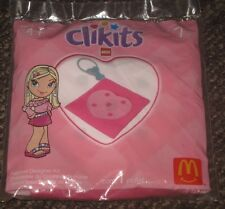 2004 LEGO Clikits McDonalds Happy Meal Toy - Clip On Heart Pouch #7