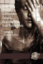 Teaching about Genocide: Approaches, and Resources (PB) (Paperback or Softback)