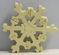 Snowflake Holiday Puzzle - Hand Cut