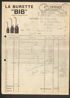 """PARIS (XX°) BURETTE BIB / Fabricant Constructeur """"Ets. VERDIER"""" en 1951"""