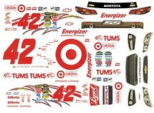#42 Juan Palbo Montoya Target 2013 Chevy 1/64th Ho Scale Slot Car Decals