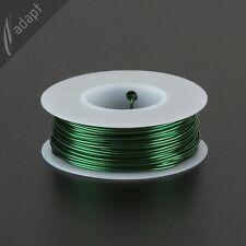 Magnet Wire, Enameled Copper, Green, 19 AWG (gauge), 155C, 1/4 lb, 63ft