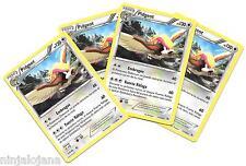 Pokemon 4 PIDGEOT 77/106 Raras x4 Español Incoloro RARA