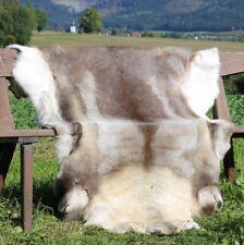 Reindeer Hide - Cream / Braun Natural Finland Premium Quality